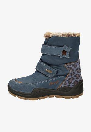 Winter boots - azzurro/jeans