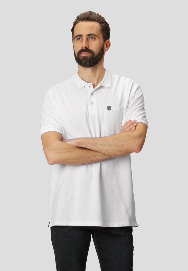 NIELS - Polo shirt - white
