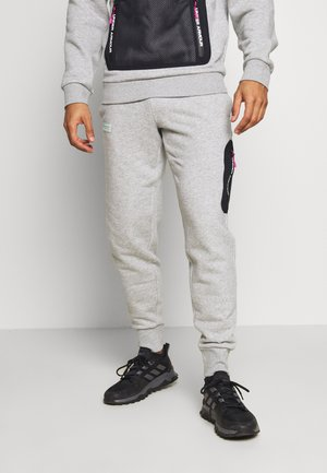 2.1 RIVAL - Pantalon de survêtement - halo gray/black/aqua foam