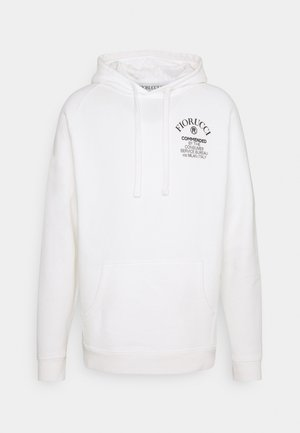 COMMENDED HOODIE - Hoodie - white