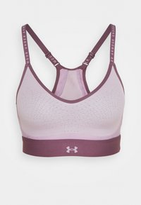 Under Armour - INFINITY LOW - Light support sports bra - purple - 6