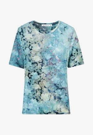 TIE&DYE - T-shirt print - green/sand