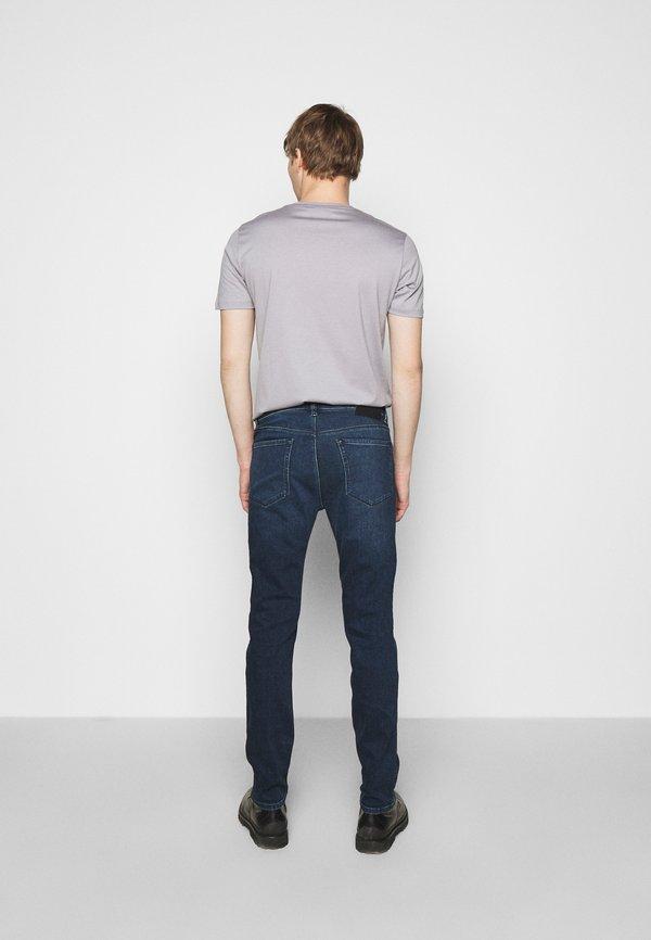 HUGO Jeansy Slim Fit - medium blue/niebieski Odzież Męska HUCT