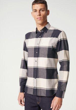 DEAN - Shirt - beige schwarz