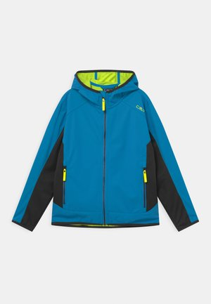 FIX HOOD UNISEX - Softshellová bunda - regata