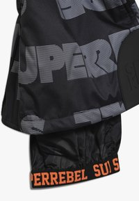 SuperRebel - SKI PANT ALL OVER - Talvihousut - black - 3