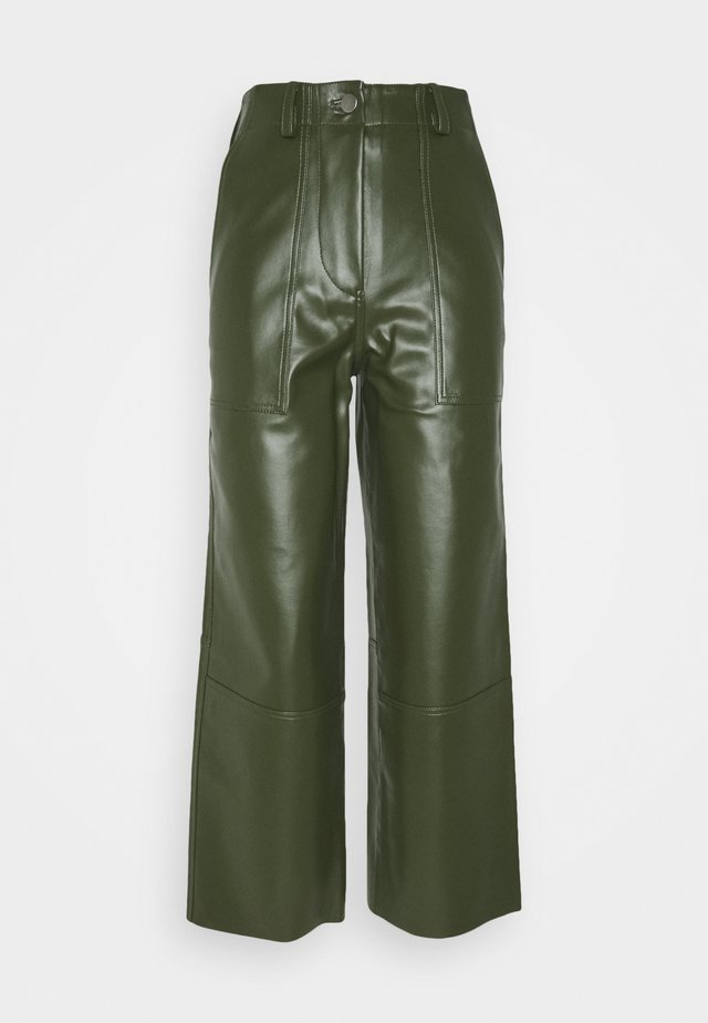 PRESLEY PANTS - Broek - green