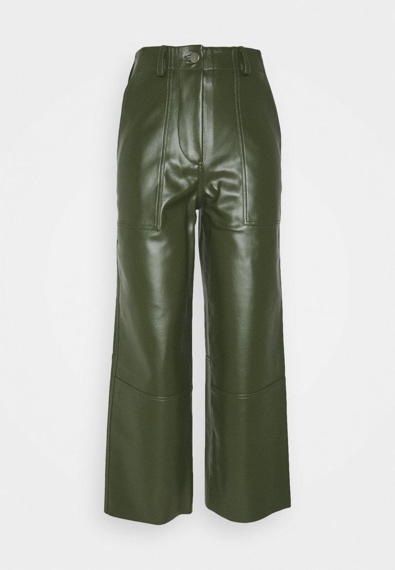 Deadwood - PRESLEY PANTS - Trousers - green