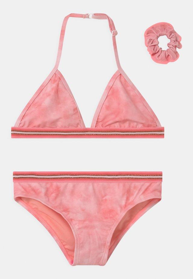 ZELANA SET - Bikinier - coral pink