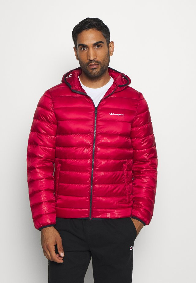 LEGACY HOODED JACKET - Zimní bunda - dark red