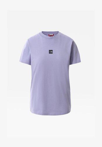 Basic T-shirt - sweet lavender/tnf black