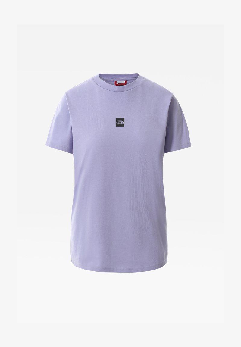The North Face - T-Shirt basic - sweet lavender/tnf black