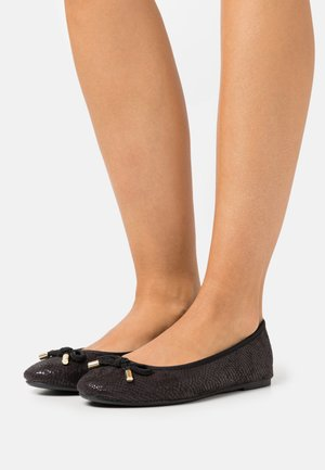 WIDE FIT - Ballerinat - black