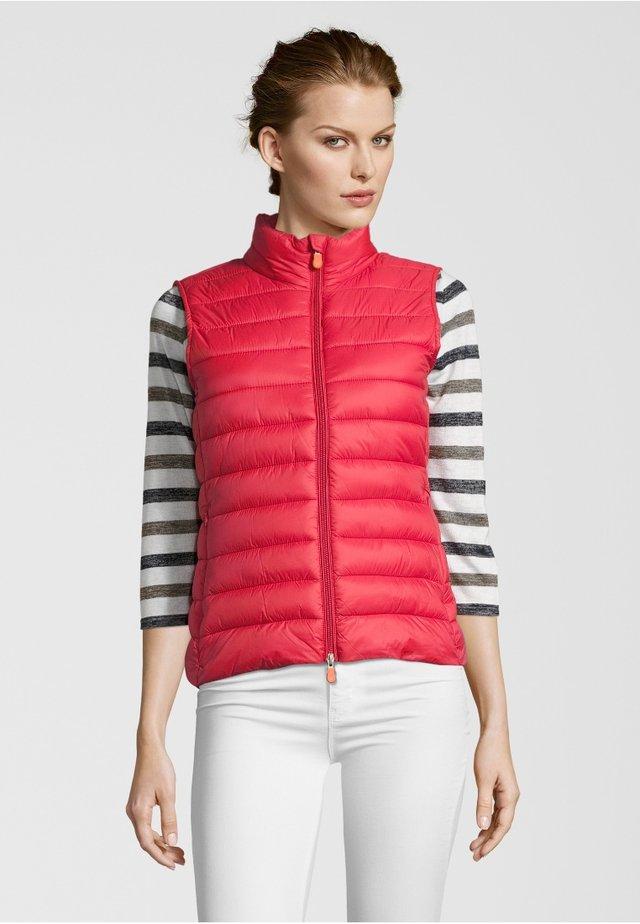 GIGA - Waistcoat - red