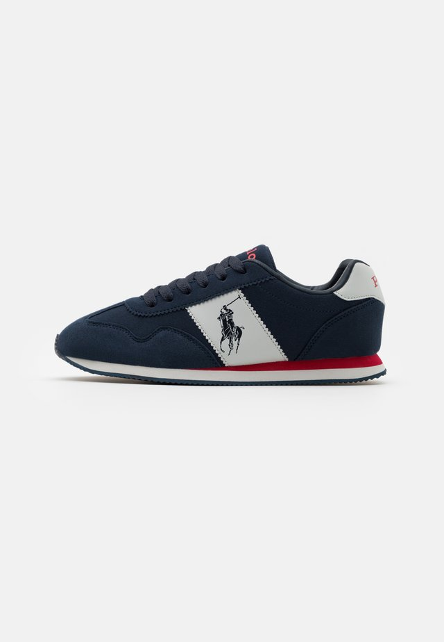 BIG PONY JOGGER UNISEX - Baskets basses - navy/grey/red