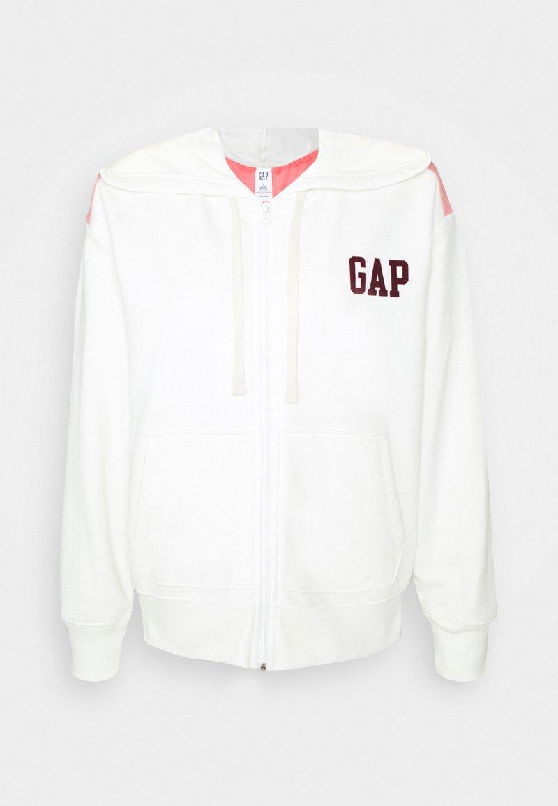 GAP - Zip-up hoodie - chalk