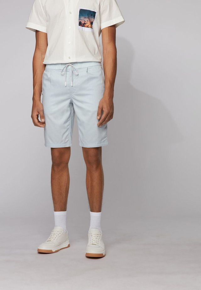 SYMOON - Shorts - light blue