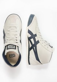 Onitsuka Tiger - MEXICO MID RUNNER UNISEX - High-top trainers - birch/indian ink - 1
