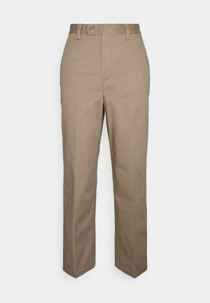 MATH CLUB SLACKS - Pantalon classique - mad taupe