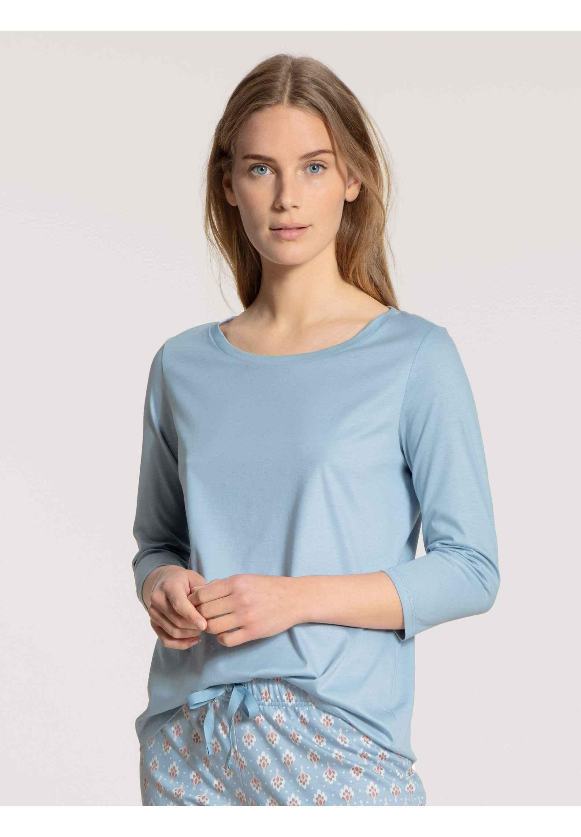 Damen MIT 3/4-ARM - Nachtwäsche Shirt
