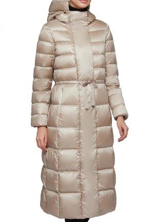 Winter coat - sand beige f5186