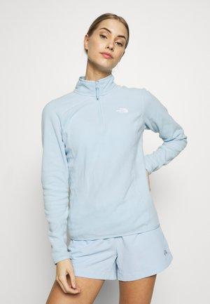 WOMENS 100 GLACIER 1/4 ZIP - Fleece jumper - falls blue