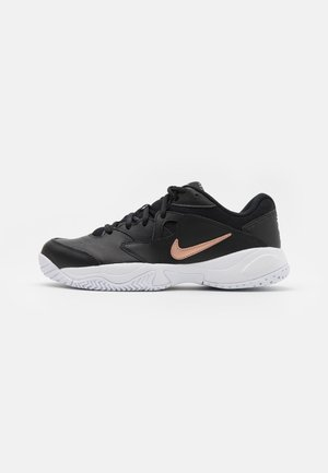 COURT LITE 2 - Allcourt tennissko - black/metallic red bronze/white