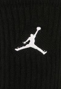 Jordan - JUMPMAN CREW 3 PACK - Sports socks - black - 1