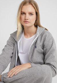 Polo Ralph Lauren - SEASONAL - Zip-up hoodie - dark vintage heather - 3