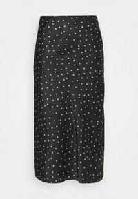 Abercrombie & Fitch - MIDI SKIRT - A-line skirt - black - 3