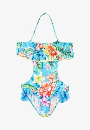 Swimsuit - floreale blue