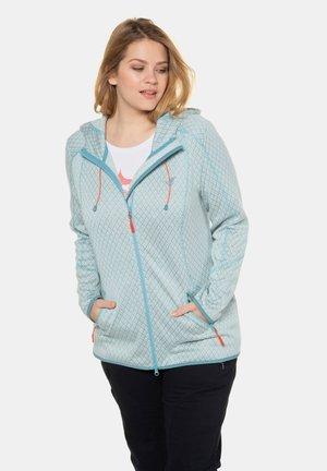 Zip-up hoodie - aqua