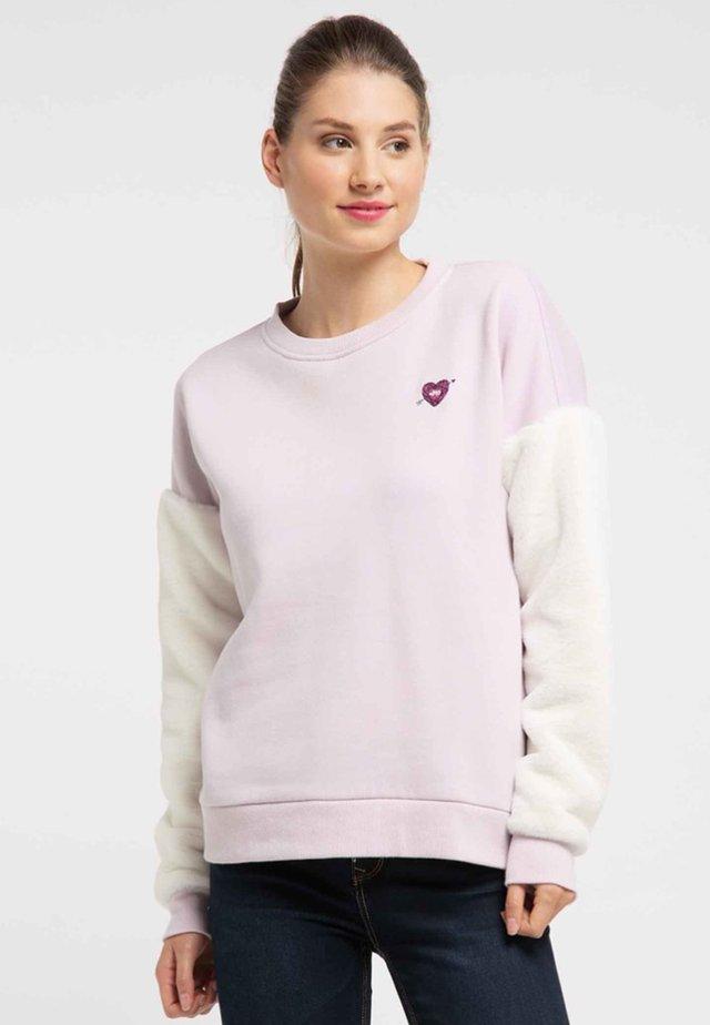 Collegepaita - powder pink
