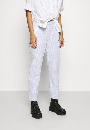 PANTALON LOISIR FEMME - Spodnie materiałowe - farine/purpy