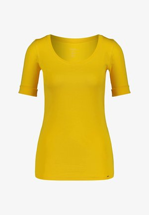 Basic T-shirt - gelb (31)