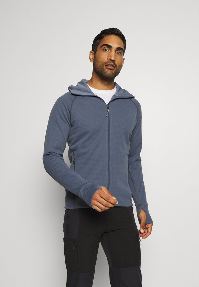 MONO AIR - Zip-up hoodie - storm blue