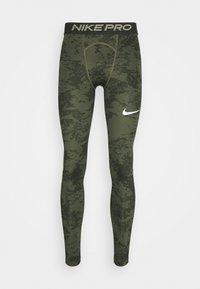 Nike Performance - Tights - medium olive/white - 7