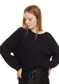 comma casual identity - LOOSE FIT - Jumper - marine - 4