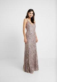 Maya Deluxe - EMBELLISHED CAMI MAXI DRESS - Suknia balowa - dusty purple - 2