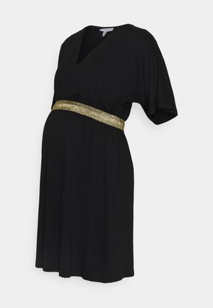 FELICINEOR - Žerzejové šaty - black