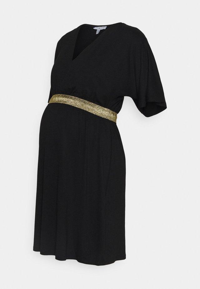 FELICINEOR - Jersey dress - black