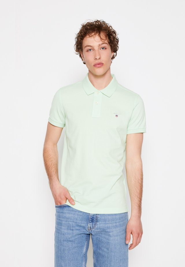 ORIGINAL SLIM RUGGER - Polo shirt - pastel green
