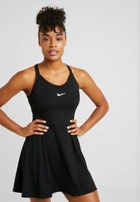 Nike Performance - DRY DRESS - Sports dress - black/white - 0