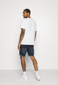 Brave Soul - Short en jean - dark blue wash - 2