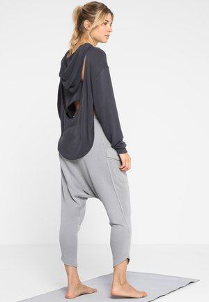 BACK INTO IT HOODIE - Jersey con capucha - black