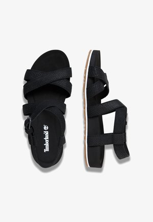 MALIBU WAVES ANKLE - Sandals - black