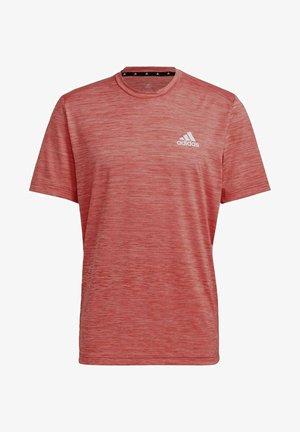 AEROREADY DESIGNED TO MOVE SPORT STRETCH T-SHIRT - Basic T-shirt - red