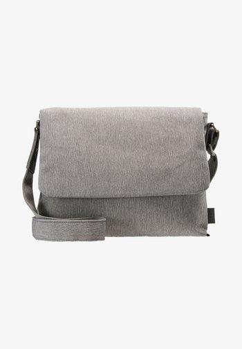 Across body bag - light grey