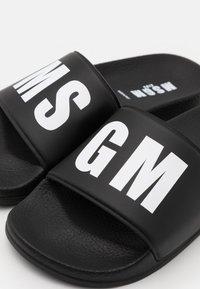MSGM - UNISEX - Pantofle - black - 5