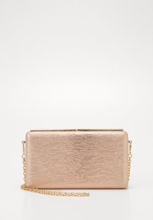 Clutch - rose gold-coloured
